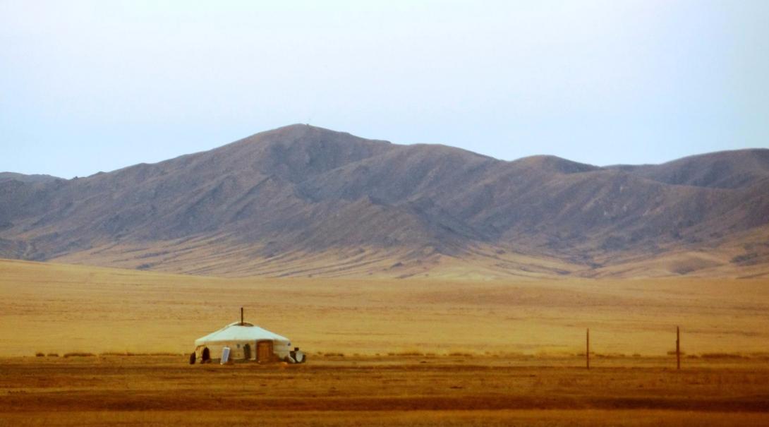 Anna L en Mongolie